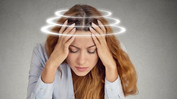 Заторможенность в движении головокружение